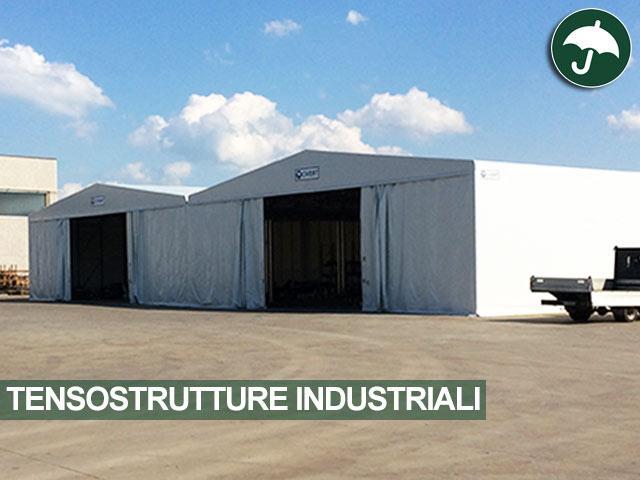 Tensostrutture industriali per M&D Costruzioni Meccaniche