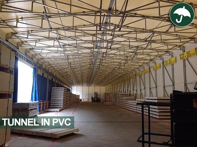 tunnel in pvc