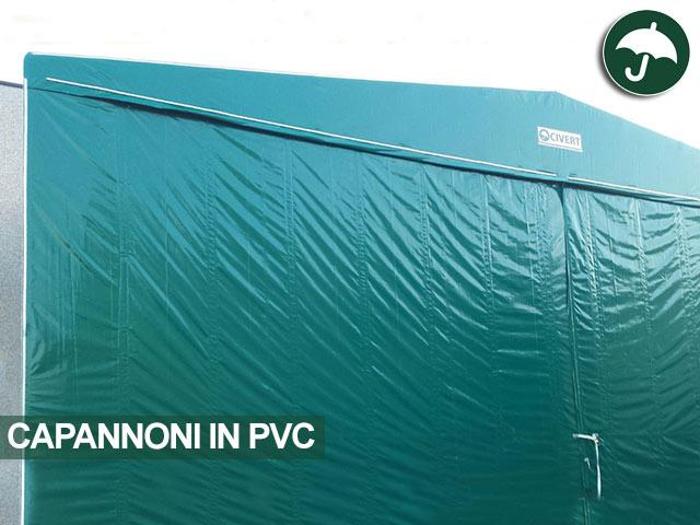 Capannone in pvc modello indipendente Only Civert