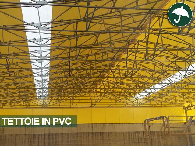 interno tettoia in pvc fasce ultravision