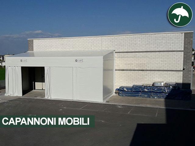 capannoni mobili pvc affiancati bergamo
