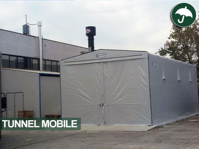 tunnel mobile pvc per eurosirel