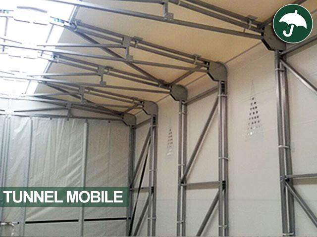 ultravision tunnel mobile in pvc