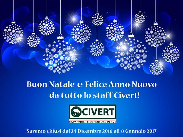 Buon Natale e felice anno nuovo da Civert