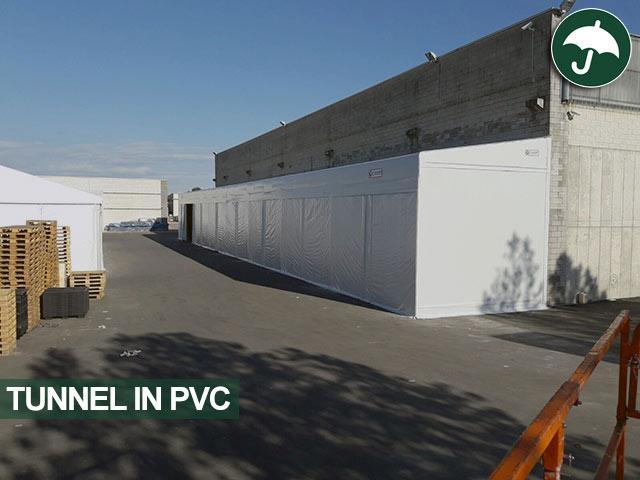tunnel in pvc strazzarino