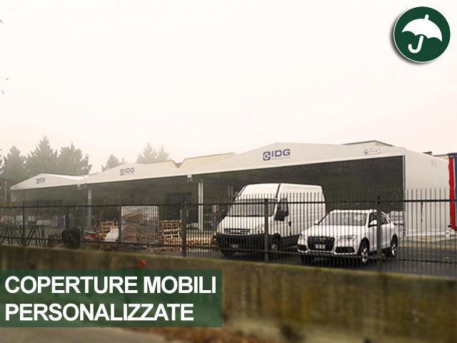 Coperture mobili personalizzate in pvc Civert