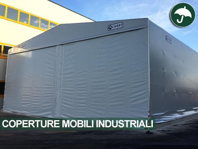 Copertura mobile industriale in pvc modello Only Civert