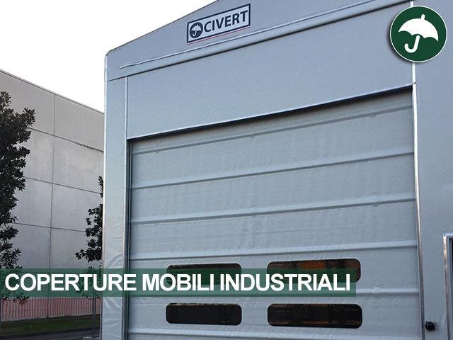 civert coperture industriali porta automatica
