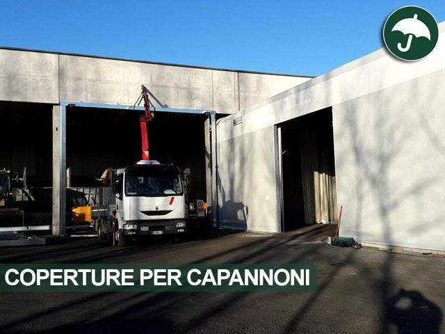 coperture per capannoni mobili in pvc