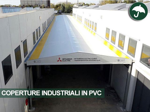 coperture industriali in pvc civert