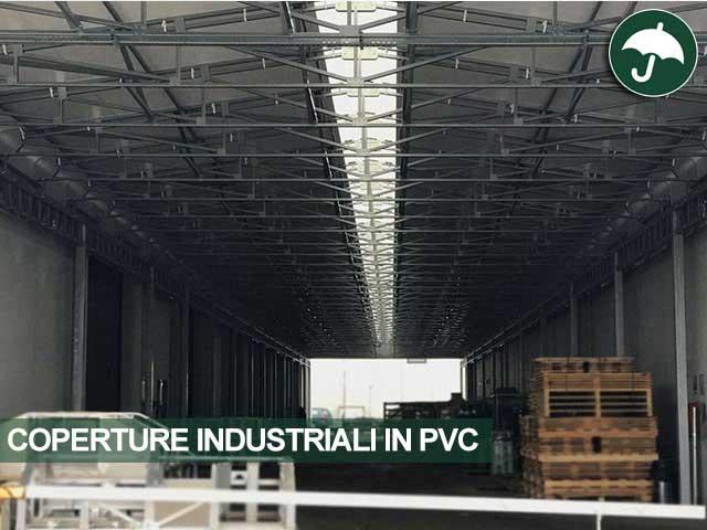coperture industriali in pvc per mitsubishi