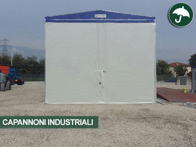 capannoni industriali civert vista frontale