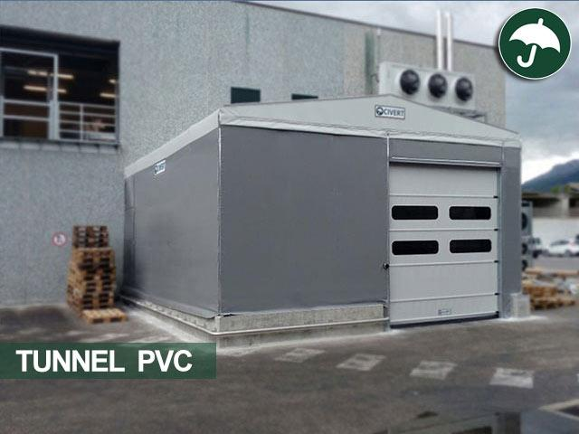 tunnel pvc frontale in provincia di chieti