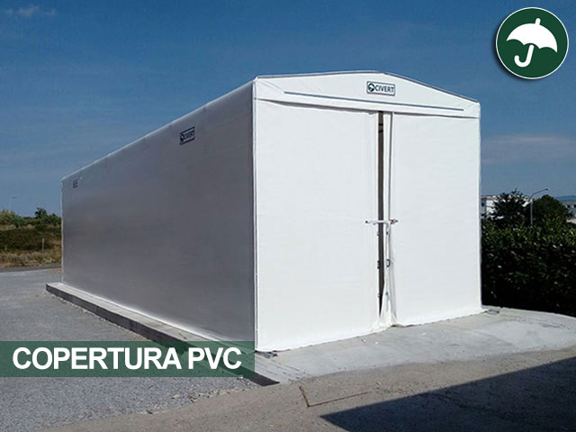 Tunnel in pvc copertura mobile Only Civert