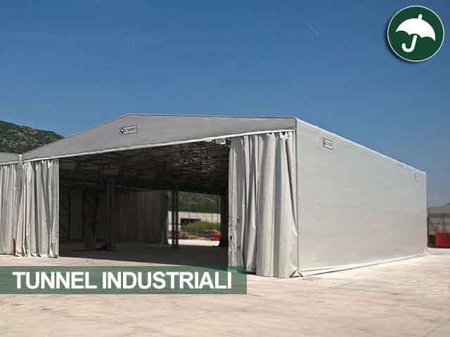 tunnel industriali lazio