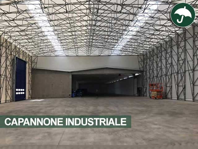 capannone industriale vista interna