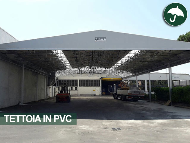 Civert arriva in provincia di Milano con una nuova tettoia in pvc