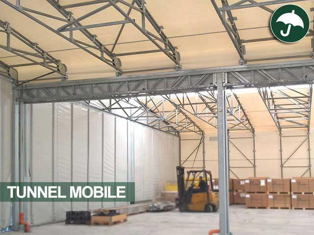 tunnel mobile pvc interno