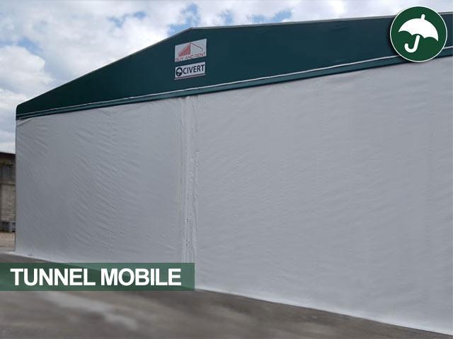 Tunnel mobile modello Biroof Civert