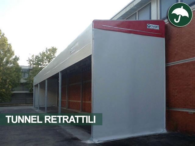 tunnel retrattili emilia romagna
