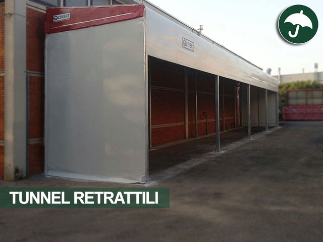 tunnel retrattile pvc