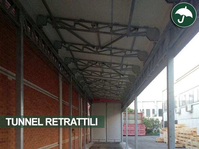 interno tunnel retrattile Bologna
