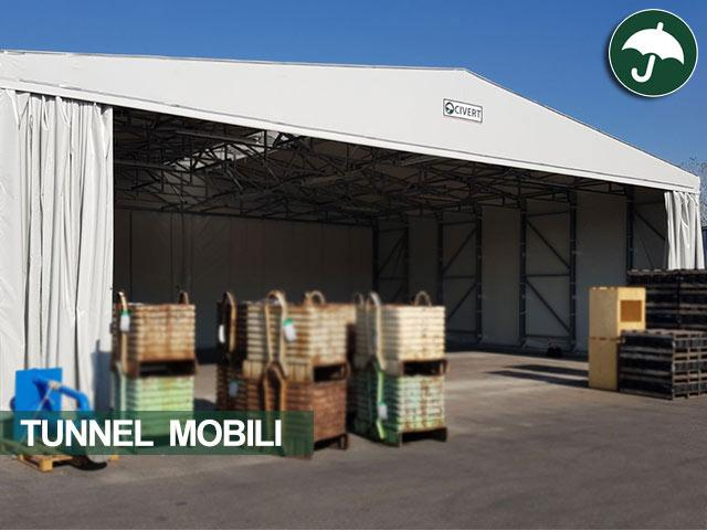 Tunnel mobile in pvc indipendente Only Civert