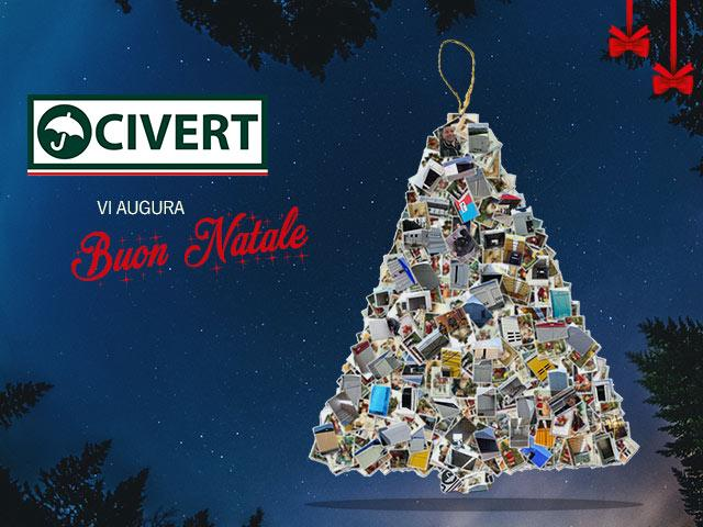 Chiusura natalizia uffici Civert