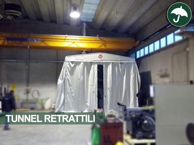 tunnel retrattili Brescia