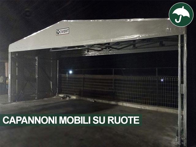 fronte capannoni mobili su ruote