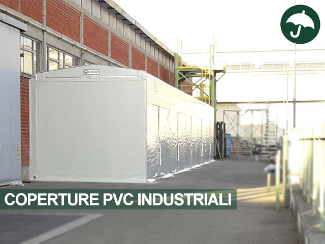 Coperture pvc industriali