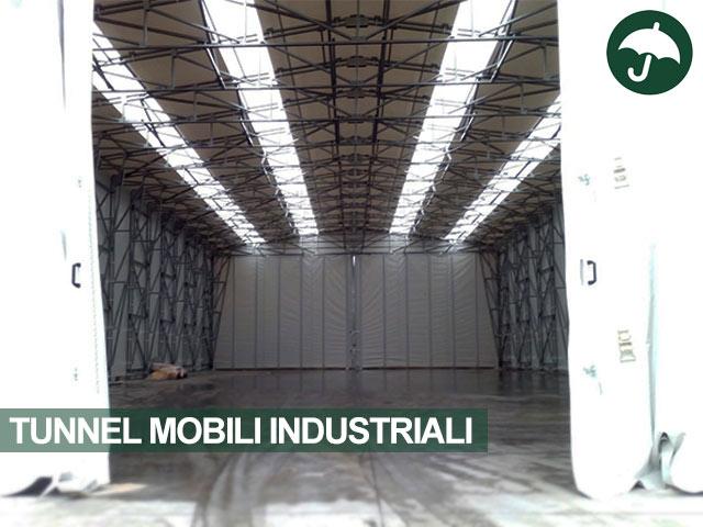 tunnel mobili industriali interno