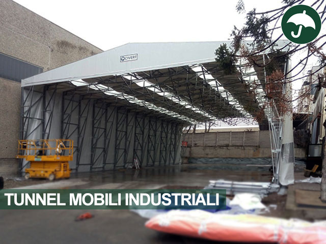 tunnel mobili industriali Novate Milanese