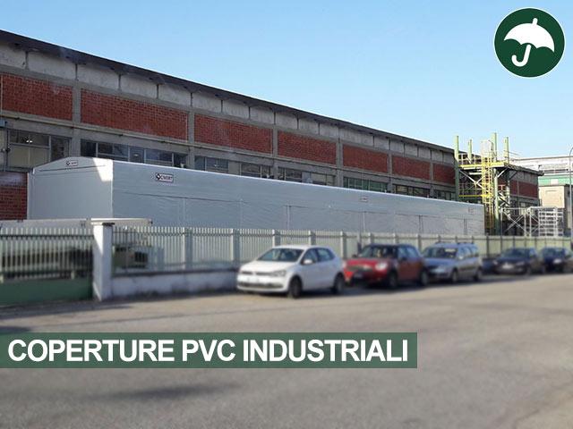 Copertura in pvc industriale modello Biroof Civert
