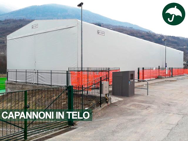 capannone telo pvc Sondrio
