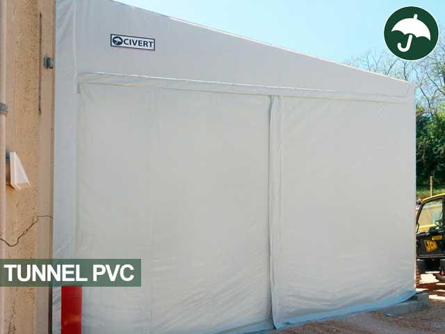 Tunnel in pvc modello Monoside Civert