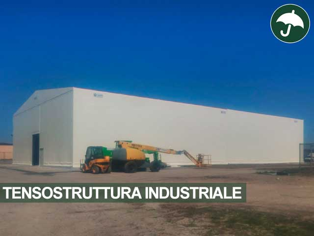 Tensostruttura industriale modello Only Civert