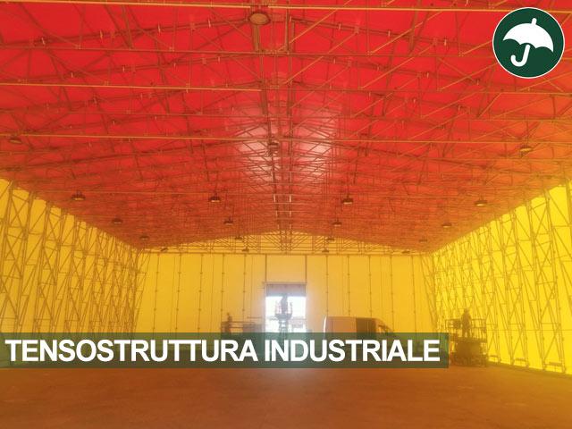Interno tesostruttura industriale
