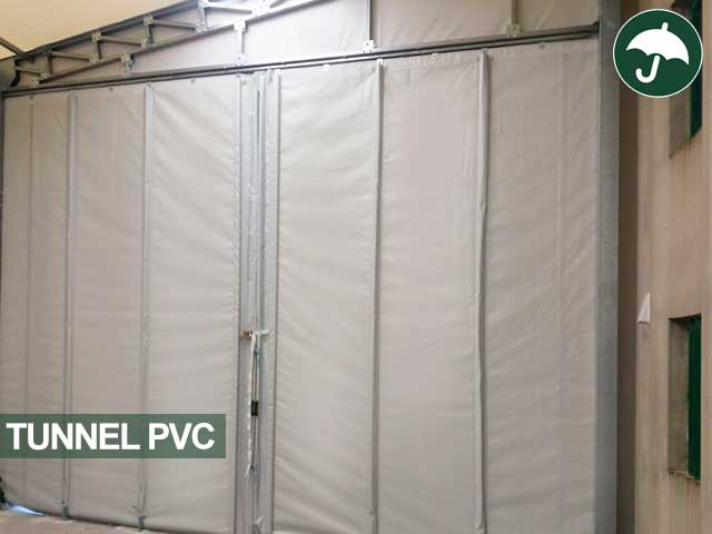 tende pvc tunnel mobile