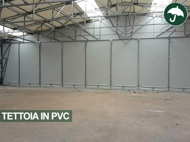 interno tettoia pvc