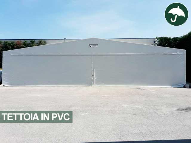 Tettoia in pvc indipendente modello Only Civert