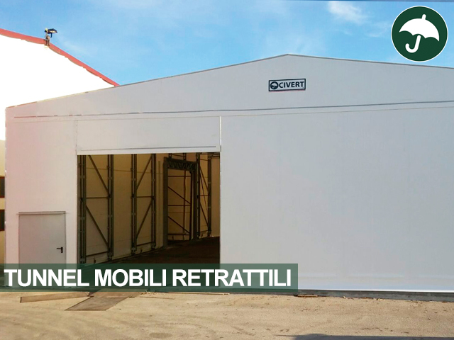 tunnel mobili retrattili Civert Frosinone