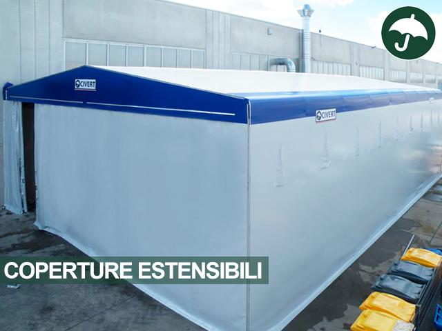 coperture estensibili per azienda di refrigerazione