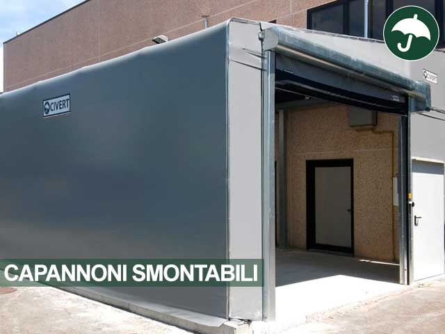 Capannoni Smontabili Civert A Reggio Emilia Per Carpenteria Leggera