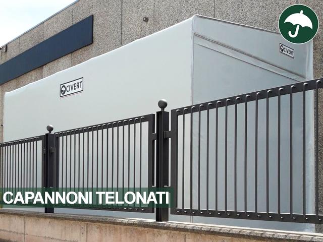 capannoni industriali telonati