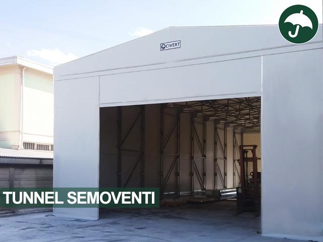 tunnel semoventi amovibili industriali