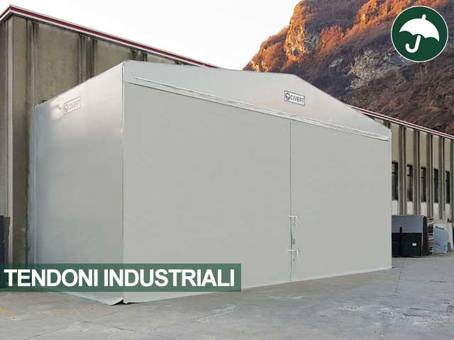 Tendone in pvc industriale modello Only Civert