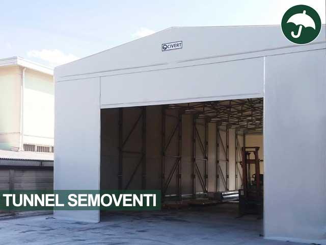 Tunnel semovente copertura modello Biside Civert