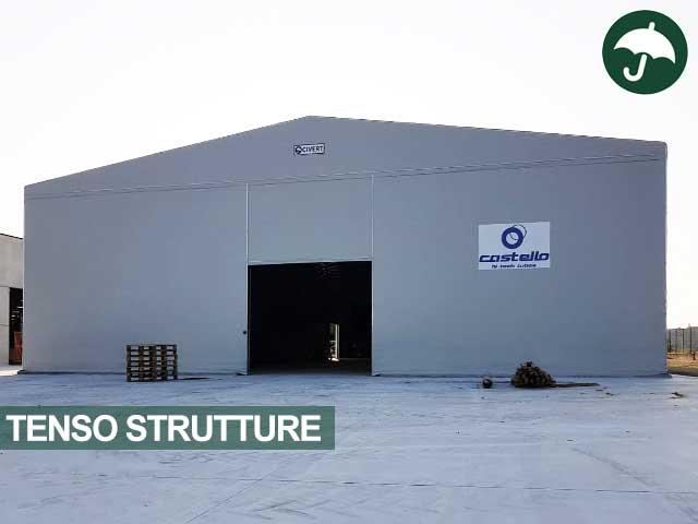 Tensostruttura con capannone industriale modello Only Civert