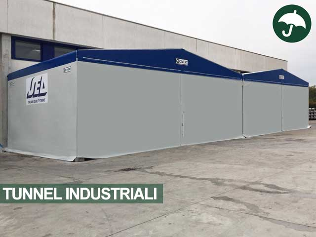 Due tunnel industriali Odd affiancati Civert
